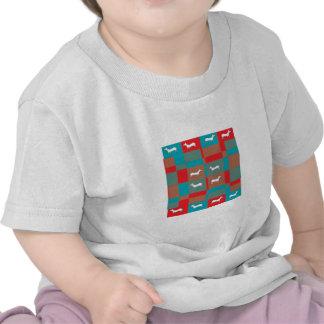 Abstract Dog Design T-shirt