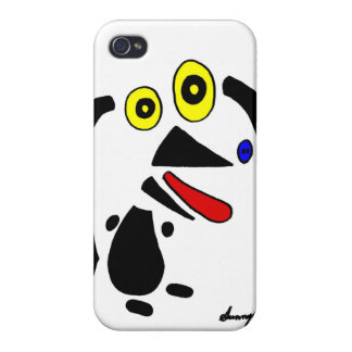 Abstract Dog iPhone 4 Savvy Case Case For The iPhone 4