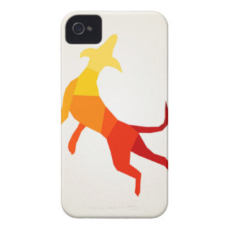 Abstract dog.jpg Case-Mate iPhone 4 cases
