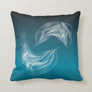 Abstract  Dolphins at Play American MoJo Pillow