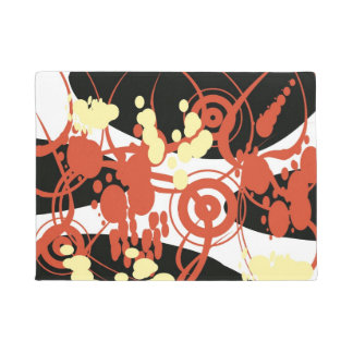Abstract Door Mat