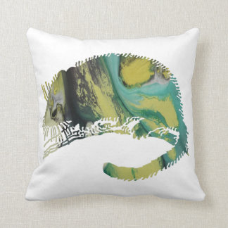Abstract  Dormouse silhouette Cushion