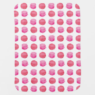 Abstract Dots Baby Blanket