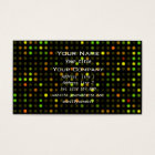 Abstract dots  Science Business Card