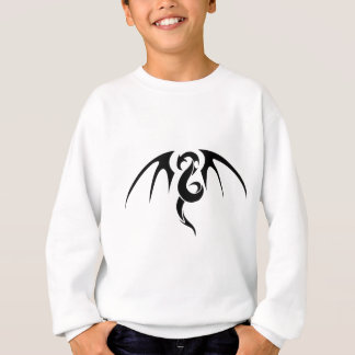 Abstract dragon art sweatshirt