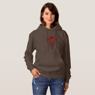 Abstract Dragon Ladies Hoodie