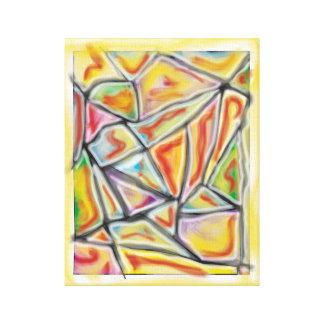'Abstract Dragon Scales'  11x14 Premium Canvas