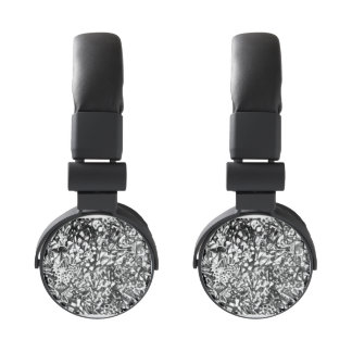 Abstract Drawing Headphones