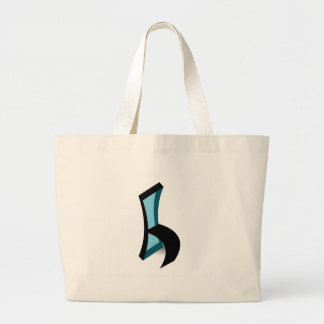 Abstract drawing of Chair Jumbo Tote Bag