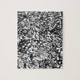 Abstract Drawing Puzzle