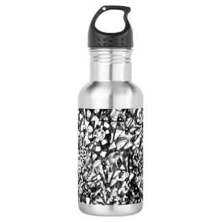Abstract Drawing Water Bottle 532 Ml Water Bottle