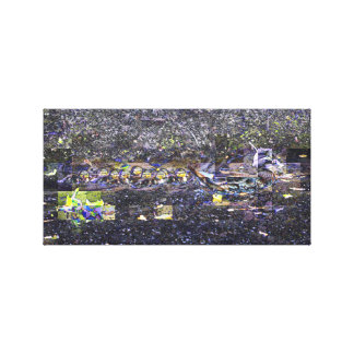 Abstract Duck Canvas Prints