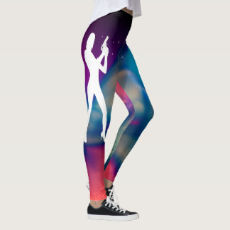 Abstract Earth Beautiful Colors Leggings