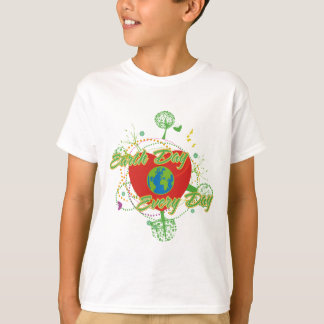 Abstract Earth Day T-Shirt