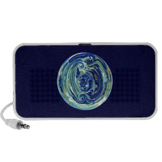 Abstract Earth in Space Speakers