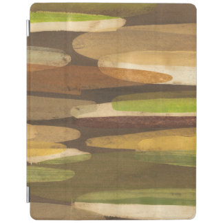 Abstract Earth Tone Landscape iPad Cover