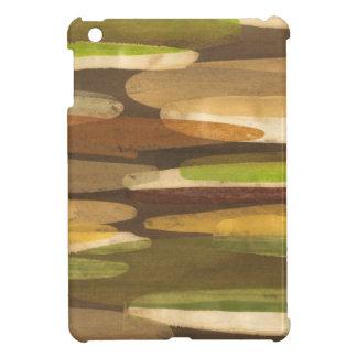 Abstract Earth Tone Landscape iPad Mini Cases