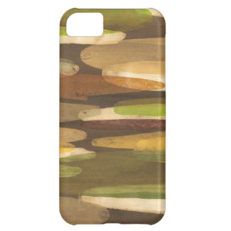 Abstract Earth Tone Landscape iPhone 5C Case