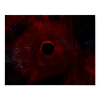 Abstract Eclipse Poster
