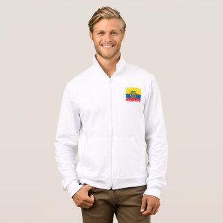 Abstract Ecuador Flag, Republic of Ecuador Colors Jacket