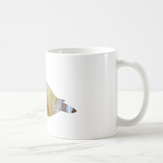 Abstract Eider duck silhouette Coffee Mug