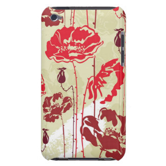 Abstract Elegance floral pattern 2 Barely There iPod Covers