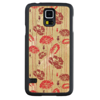 Abstract Elegance floral pattern 2 Carved Maple Galaxy S5 Case