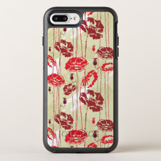 Abstract Elegance floral pattern 2 OtterBox Symmetry iPhone 8 Plus/7 Plus Case