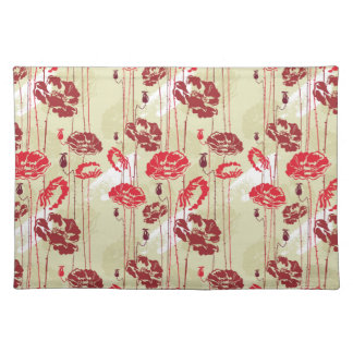 Abstract Elegance floral pattern 2 Placemat