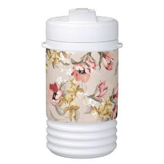 Abstract Elegance floral pattern 3 Cooler