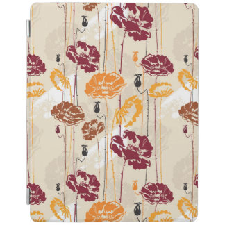 Abstract Elegance floral pattern 4 iPad Cover