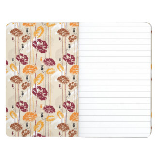 Abstract Elegance floral pattern 4 Journal