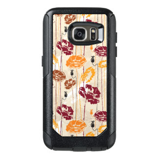Abstract Elegance floral pattern 4 OtterBox Samsung Galaxy S7 Case