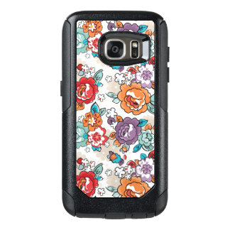 Abstract Elegance floral pattern 5 OtterBox Samsung Galaxy S7 Case