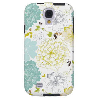 Abstract Elegance floral pattern Galaxy S4 Case