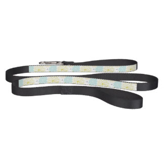 Abstract Elegance floral pattern Pet Lead