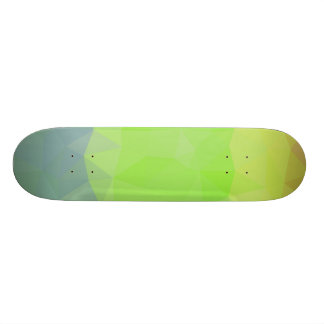 Abstract & Elegant Geo Designs - Ocean to Land Custom Skate Board