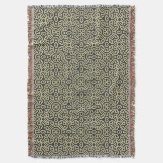 Abstract ethnic background 2 2 throw blanket