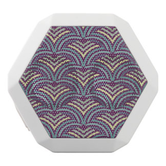 Abstract ethnic background 2 white boombot rex bluetooth speaker