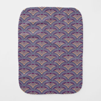 Abstract ethnic background 2 burp cloth