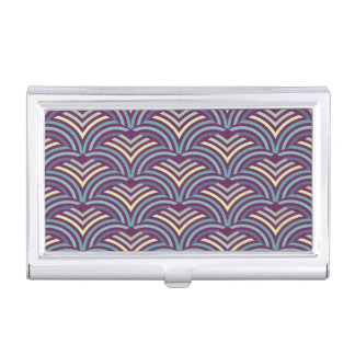 Abstract ethnic background 2 business card holder