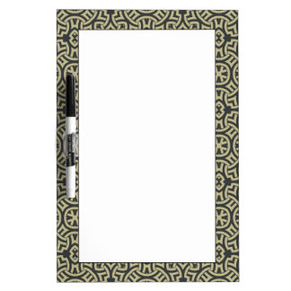 Abstract ethnic background 2 dry erase board