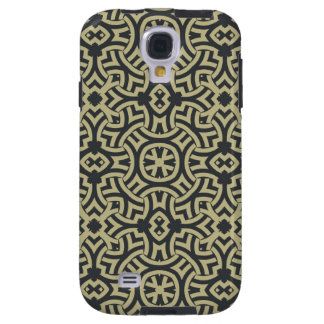Abstract ethnic background 2 galaxy s4 case