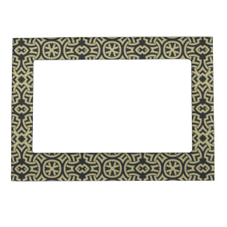Abstract ethnic background 2 magnetic picture frame
