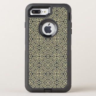 Abstract ethnic background 2 OtterBox defender iPhone 8 plus/7 plus case