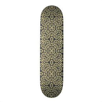Abstract ethnic background 2 skate board deck