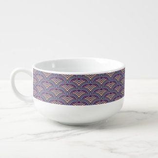 Abstract ethnic background 2 soup mug