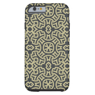 Abstract ethnic background 2 tough iPhone 6 case
