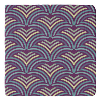 Abstract ethnic background 2 trivet