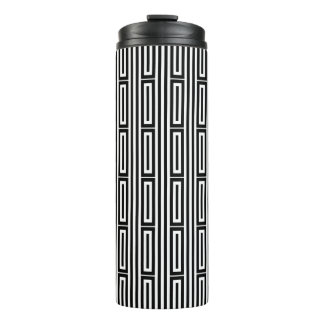 Abstract ethnic background 3 thermal tumbler